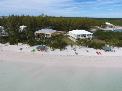 Aerial of Mango and Key Lime Beach Homes