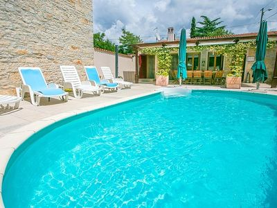Photo for Stone house  Villa Rajka with Private Pool  - 15 km from Rovinj