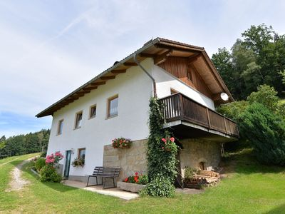 Photo for Beautiful holiday home on a farm in the Bavarian Forest with a great view.