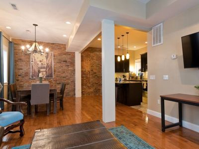 Photo for Unit #1 Luxury 3-story townhome w/ exposed brick & 2 decks