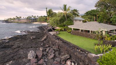 Photo for Honl's Beach Hale ~ Ocean Front*Recently Renovated*Old Hawaii at its Best! Honl's Beach steps away!