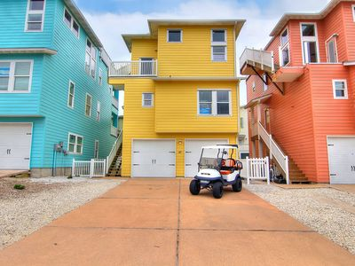Photo for Sunny Side UP: Golf Cart, Roof Top Deck with Ocean Views, 2 Pools