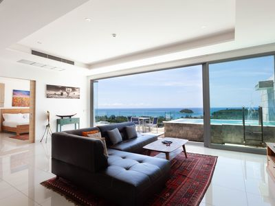Photo for OPULENT LUXURY 3-BDR WITH PANORAMIC SEA VIEW