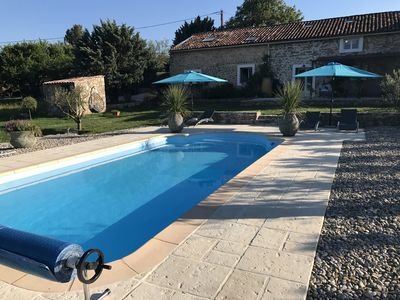 Photo for TYPE HOUSE PROVENCAL MAS, 15PERSONNES