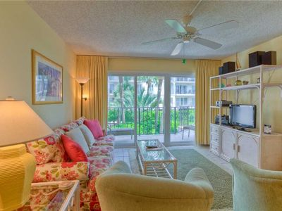 Photo for Oceanfront Condominium Great for Small Families! Pool, Beach Access, Fitness, Tennis