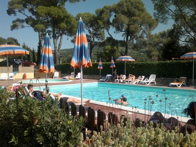Photo for Apartment n. 29, with swimming pool, wifi, near the sea in Tuscany - Panoramic