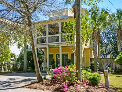 Photo for Kingdom Come 3 Story Gulf View & Heated Pool Steps to Seaside!