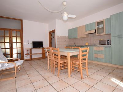 Photo for Charming Apartment Fiori Blu close to the Beach with Wi-Fi, Terrace & Garden; Parking Available, Pets Allowed Upon Request