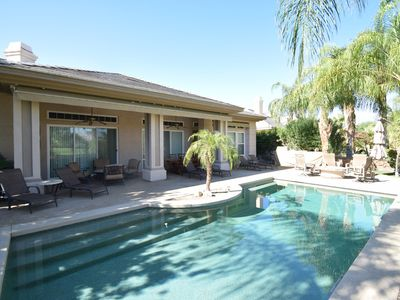 Photo for Beautiful, Relaxing, Executive Rancho Mirage Home! Mountain and Golf course view
