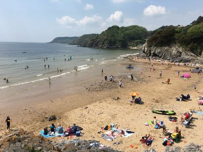 Photo for Beach Chalet At Caswell Bay, Mumbles, Swansea, South Wales