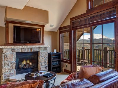 Photo for Ski In/Out Corner Unit - 2 King Beds, Views Over Breck, Crystal Peak Lodge