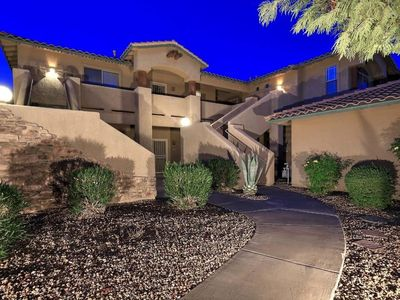 Photo for Resort-like 2BR/2BA townhome getaway in sunny Scottsdale near golf and mtn views