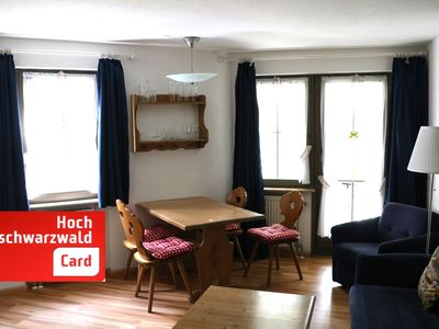 Photo for Apartment 4, residence Schauinsland with pool, Todtnauberg