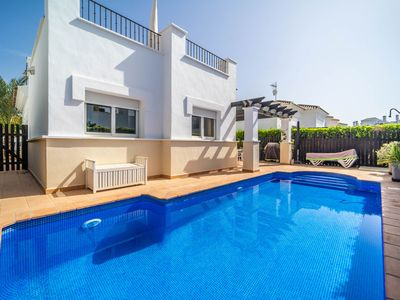 Photo for Villa with private pool - La Torre Golf Resort- MURCIA VACATIONS - LO4