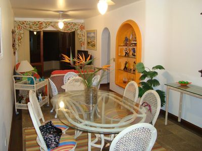 Photo for Beautiful apartment with 3 Bedroom, 50 meters from the beach and full leisure