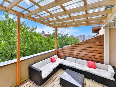 Photo for NEW LISTING! Modern townhouse w/ a rooftop patio & shared grill - dogs OK!