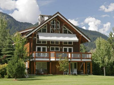 Photo for Luxury 5 bedroom/6 bath Whistler Mountain chalet on Nicklaus North golf course