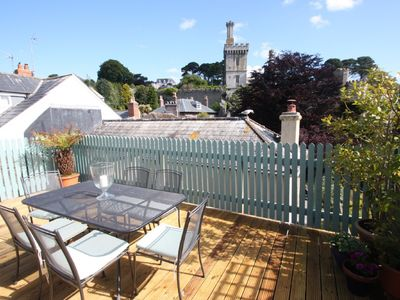 Photo for Private decking area & Central location  within 5 min walk of town.
