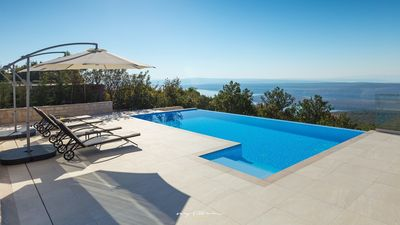 Photo for Beautiful villa with panoramic view near Rijeka