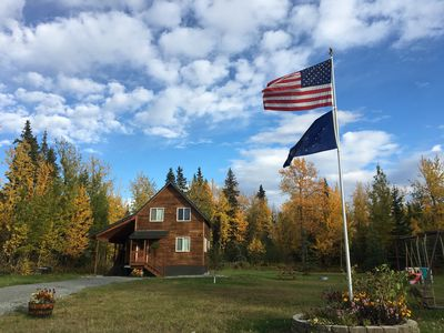 Photo for Rustic Moose Cabins ~ Your Home Away from Home