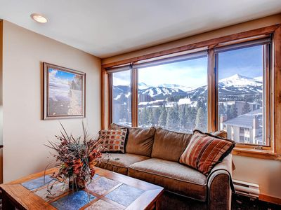 Photo for Superb Ski In/Out Studio Condo With THE BEST Mtn. and Ski Slope Views In Town!