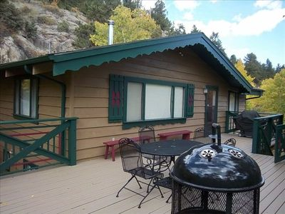Photo for SLEEPS UP TO 10 , STUNNING VIEWS, NATIONAL FOREST, CLOSE TO ESTES