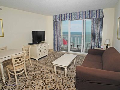 Photo for Oceanfront Baywatch 1132! 1 BR Oceanfront View and Amenities. Book now for best rate!