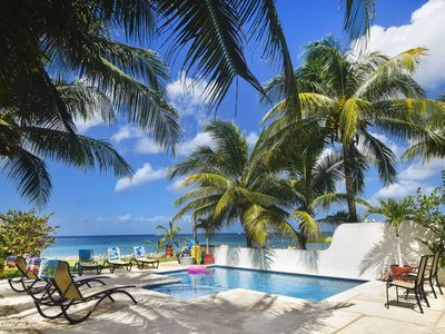 Photo for Large Groups , Beachfront Villas with Pools, Staff