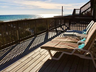 Photo for Beachfront Isle - On the Sand, Private Beach, Just Renovated, SPECIAL RATES!