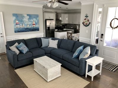 Photo for 5 BR/3 BA, 1st FL, close to beach & town in the heart of OCNJ, sleep 12-14