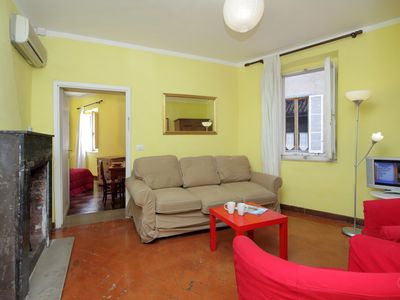Photo for Cappellari 73 Yellow apartment in Centro Storico with WiFi & air conditioning.