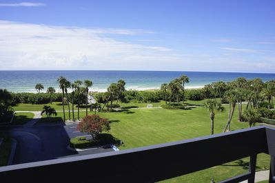 The view from your private terrace - steps to the Gulf of Mexico