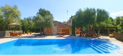 Photo for Villa Sa Costa: Finca for 3 persons with pool, internet and SAT TV