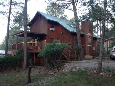 Photo for Dream Catcher Cabin Retreat W/ 6 Person Hot Tub,WiFi, & 3 Decks