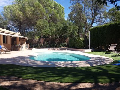 Photo for House entirely privative with swimming pool and ground of petanque on the coast D '