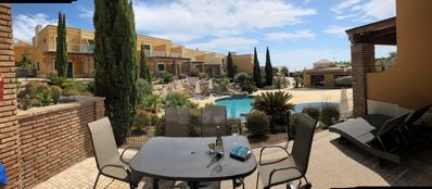 Photo for 3 double bedrooms, sleeps 6 or 8 + additional fees - ocean and pool views.