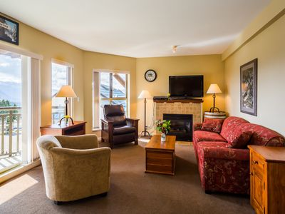 Photo for Your Next Ski Vacation | Slopeside Access + Fireplace + Shared Hot Tub