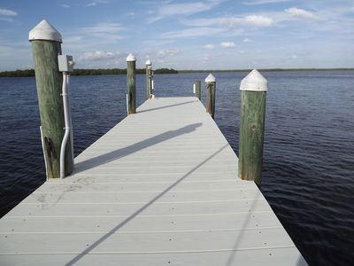 Photo for Direct Bayfront Home With Private Boat Dock / Fishing Pier