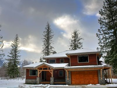 Photo for Whyte Mountain Chalet: Spacious & Upscale with Hot Tub & BBQ Deck
