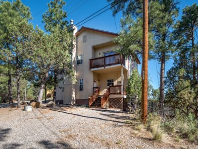 Photo for 3 BEDROOM/2 BATH WITH LARGE DECK & SUPER VIEWS FROM BACK