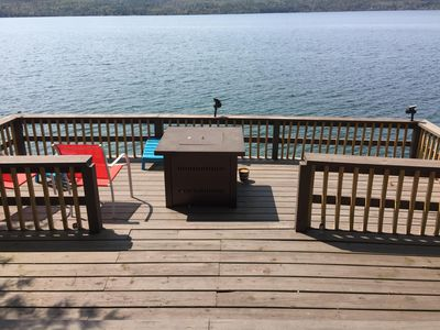 Photo for Northern Lake George Rental -- 140 Ft Of Lake Front With Dock For Boat