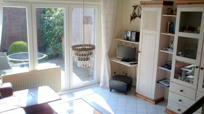 Photo for Haus Störtebeker: 3 minutes from the beach, sheltered south-facing terrace, central