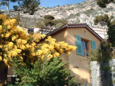 Photo for Villa with superb sea views, fabulous outdoor space, 5 minutes from the beach