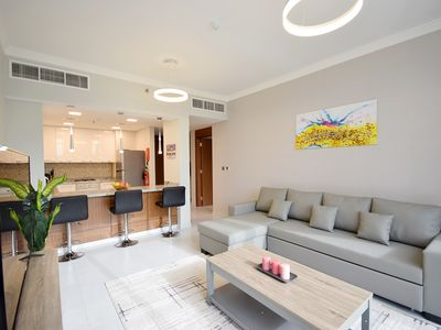 Photo for 1BR Hotel style Apartment in JVC