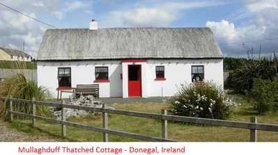 Photo for Mullaghduff Thatched Cottage on the Wild Atlantic Way, near Kincasslagh, Donegal