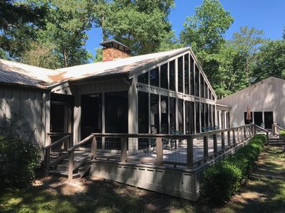 Photo for Hidden Pines Lodge -- Privacy in the East Texas Piney Woods