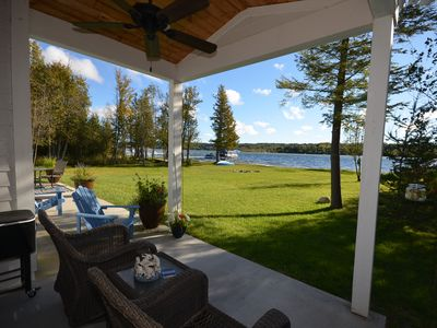 Photo for Fun in the Sun- Gorgeous luxury home-S. Lake Leelanau-Air