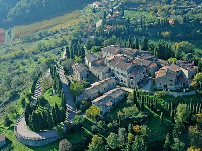 Photo for Holiday apartment, Chianti Classico, WiFi, restaurant, wine tasting
