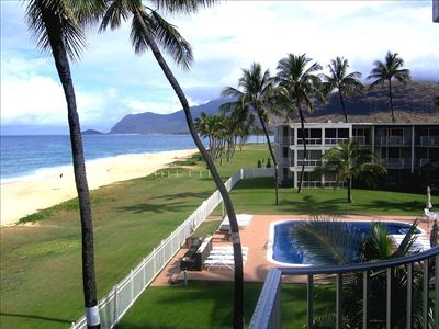 Photo for Oceanfront Penthouse on Maili Beach
