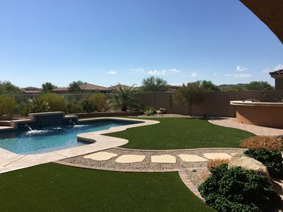 Photo for Newer Home W/ Expansive, Resort Style Backyard, Private & With Mountain Views!!